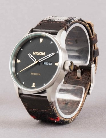 Sentry Leather Watch x Pendleton - Midnight Eyes