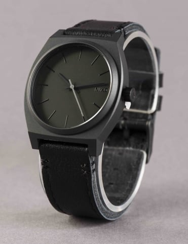 Time Teller Watch - All Black/Slate
