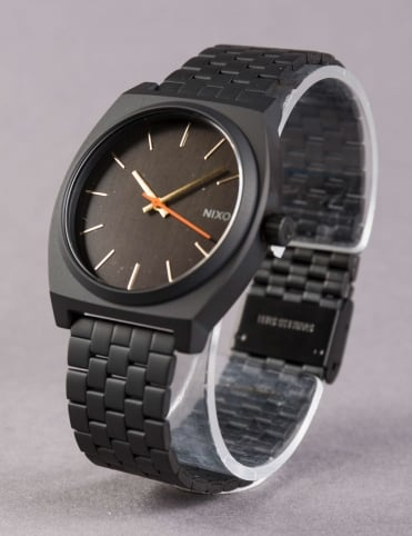 Time Teller Watch - All Black/Surplus