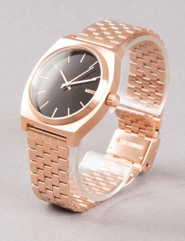 Time Teller Watch - All Rose Gold/Black Sunray
