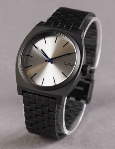 Time Teller Watch - Black/Silver