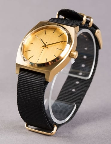 Time Teller Watch - Gold/Black