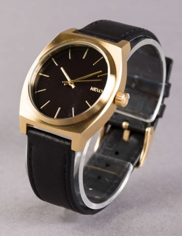 Time Teller Watch - Gold/Blk/Blk
