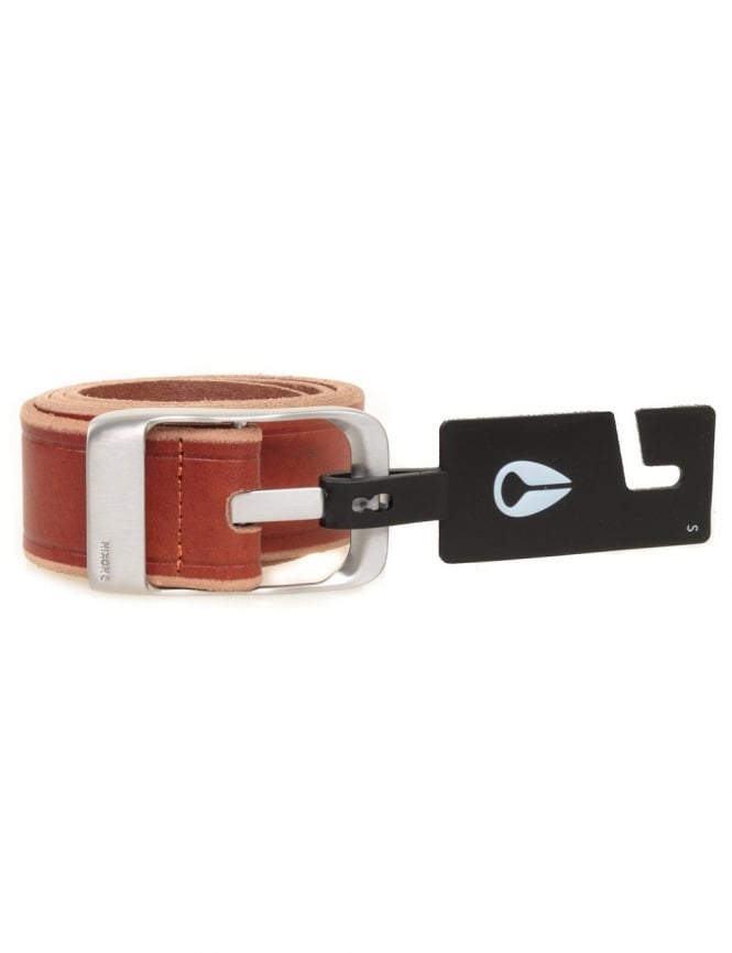 Nixon Victory Belt - Honey Brown