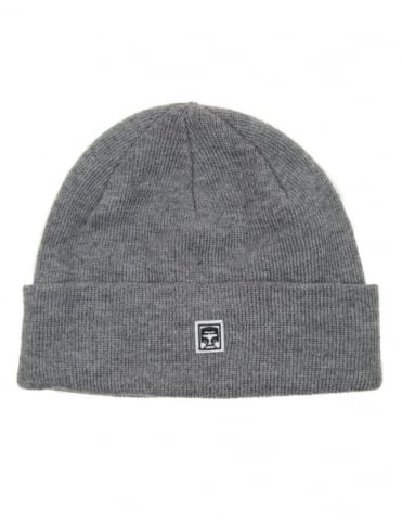 Obey Clothing 89 Beanie Hat - Heather Grey