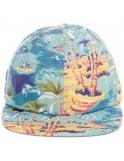 Obey Clothing Baltimore Snapback Hat - Island