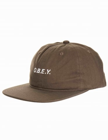 Barrage 6 Panel Hat - Olive
