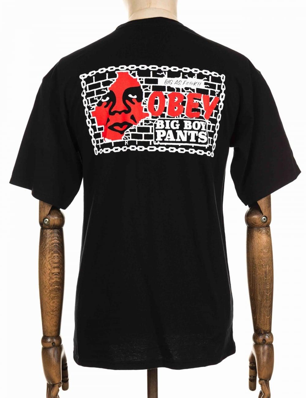 Obey Clothing Boy Pants T Shirt