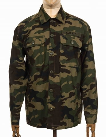 Breakdown Jacket - Camo