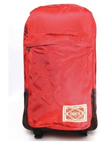 Commuter Pack - Red/Brown