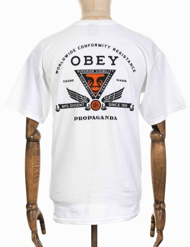Conformity Resistance T-shirt - White