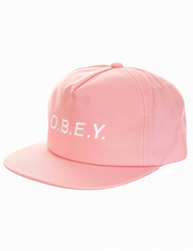 305923ff18f Obey Clothing Contorted II Snapback Hat - Pink - Accessories from ...