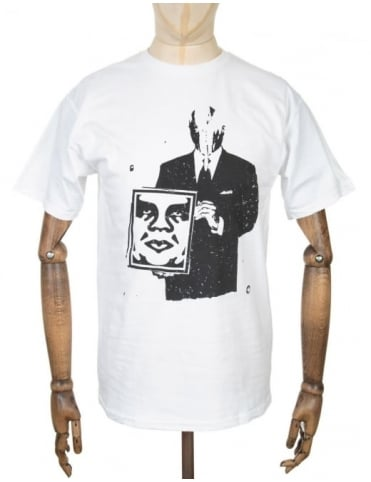 Obey Clothing Corporate Violence T-shirt - White