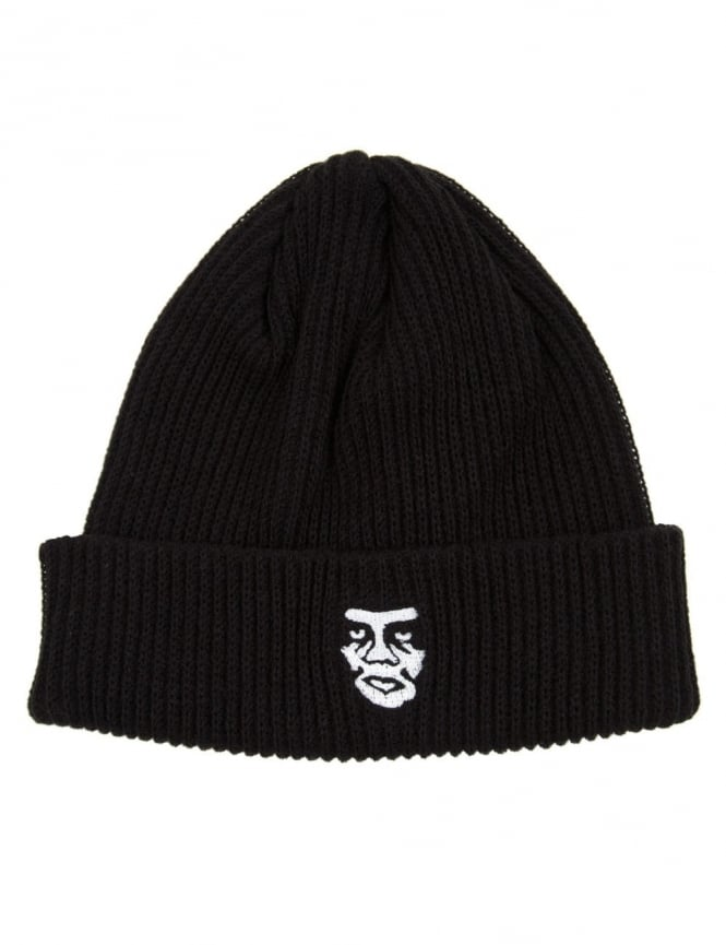 Obey Clothing Creeper Beanie Hat - Black