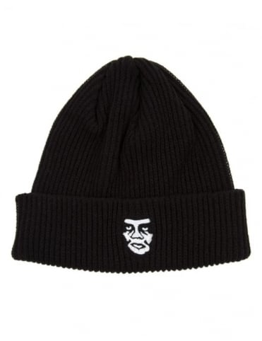 Obey Clothing Creeper Beanie Hat - Black