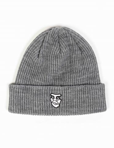 Creeper II Beanie Hat - Heather Grey