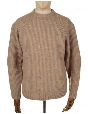 Deering Knitted Jumper - Cream