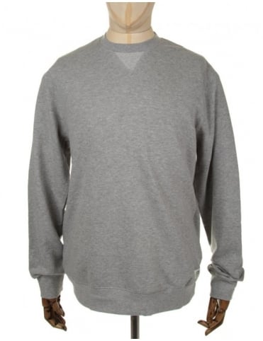 Obey Clothing Dissent Crewneck Sweat - Heather Grey