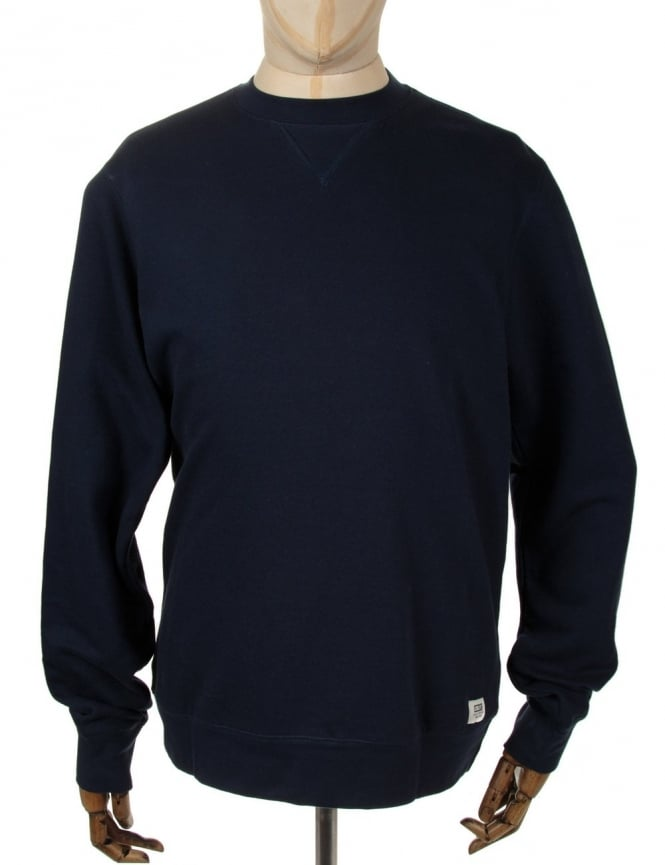 Obey Clothing Dissent Crewneck Sweat - Navy