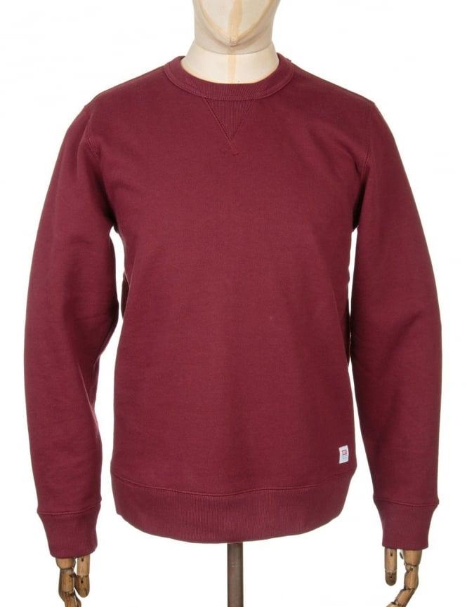 Obey Clothing Dissent Standard Sweatshirt - Burgundy