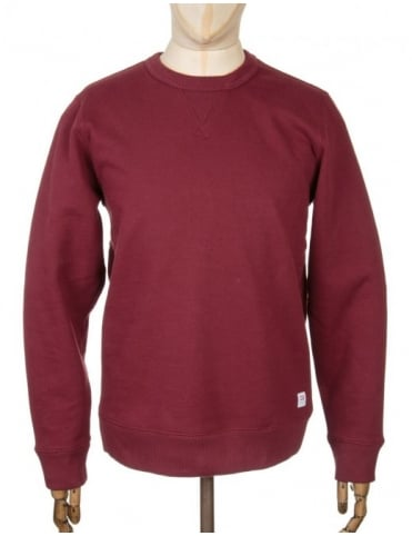 Obey Clothing Dissent Standard Sweatshirt - Burgundy