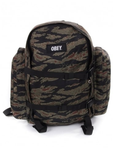 Obey Clothing Field Pack - Tiger Camo