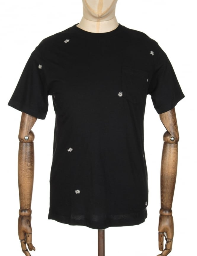 Obey Clothing Fly Pocket T-shirt - Black