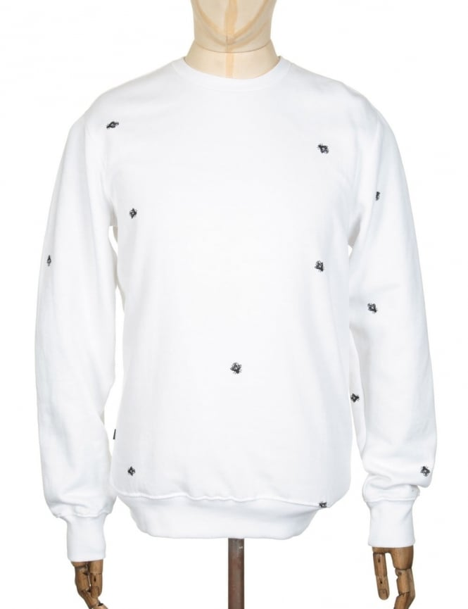 Obey Clothing Fly Sweatshirt - White