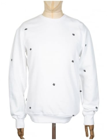 Obey Clothing Fly Sweatshirt - White