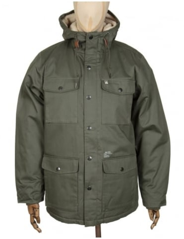 Obey Clothing Heller Jacket - Army Green