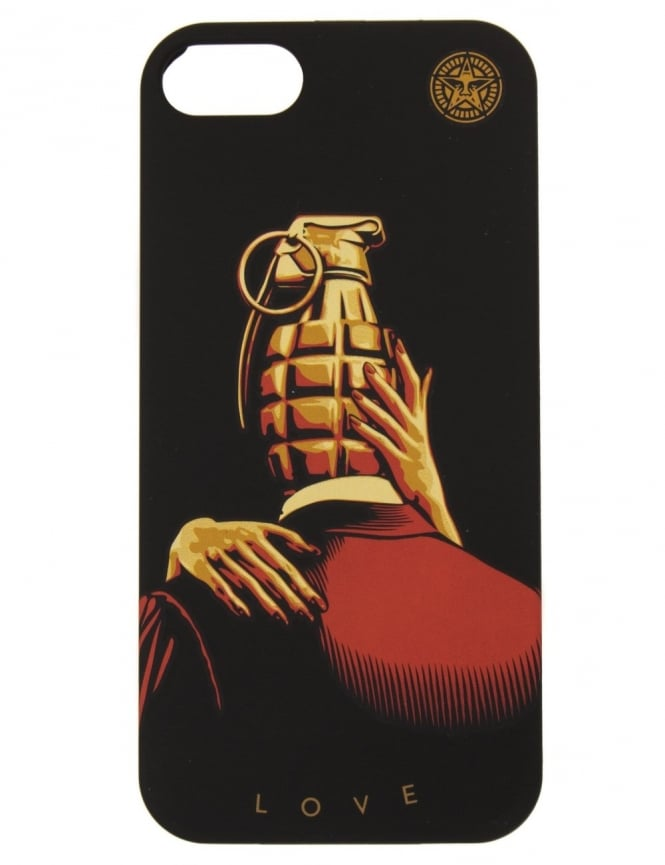 Obey Clothing iPhone Case - Love is the Drug