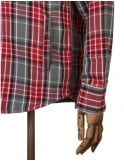 Obey Clothing James Jacket - Red/Charcoal