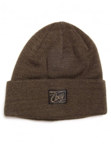 Obey Clothing Jobber Beanie - Heather Army