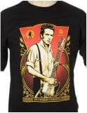 Obey Clothing Joe Strummer Foundation T-shirt- Black