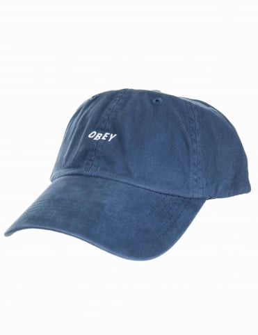 Jumble Bar II 6 Panel Hat - Navy