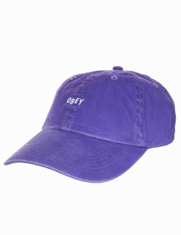 Jumble Bar II 6 Panel Hat - Violet