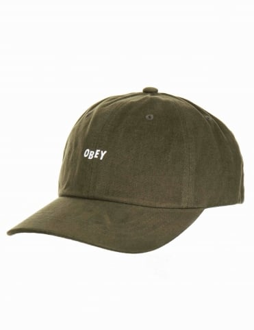 Jumble Bar III 6 Panel Hat - Army