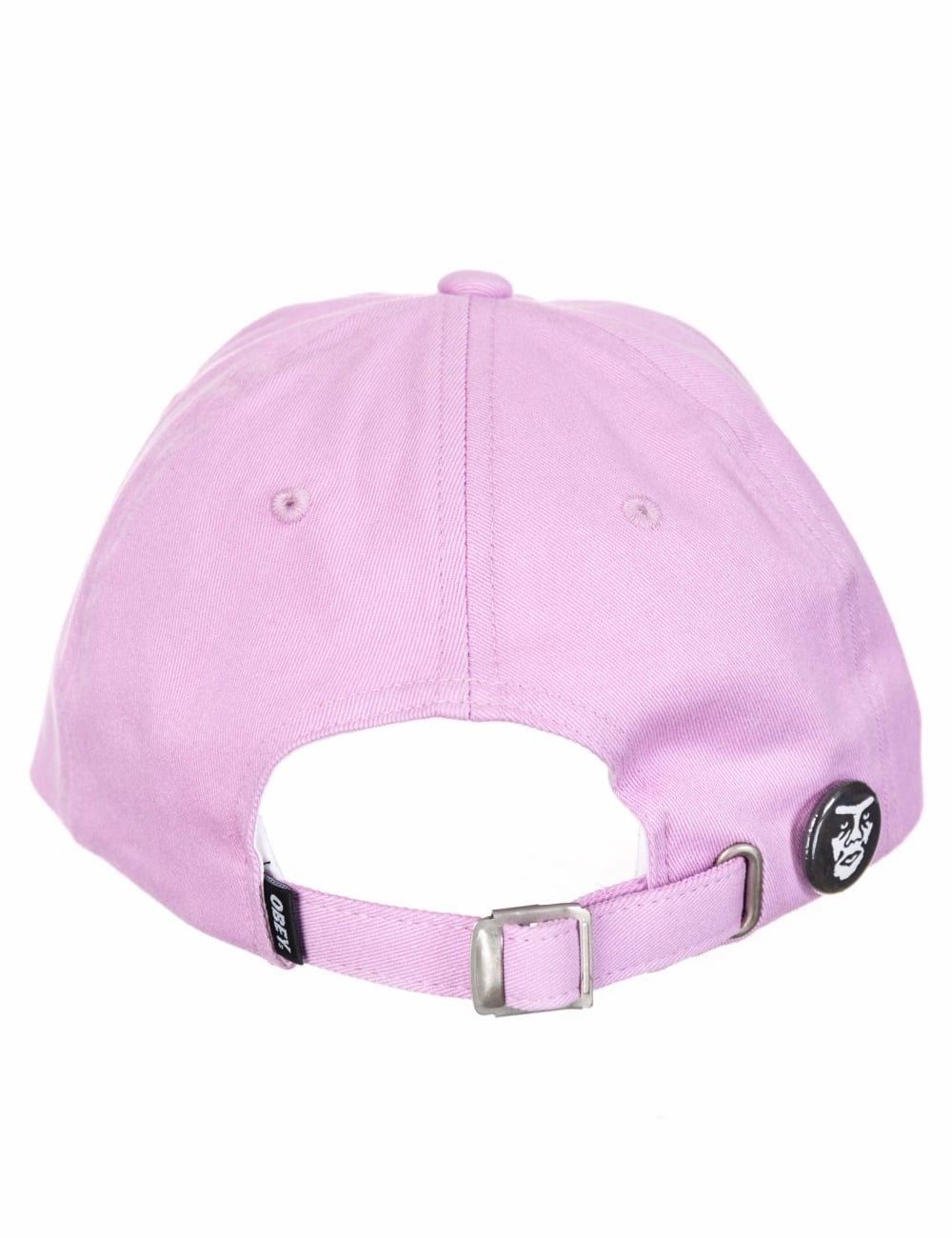 Obey Clothing Jumble Bar III 6 Panel Hat - Pale Purple - Accessories ... 9e253cb1a50d