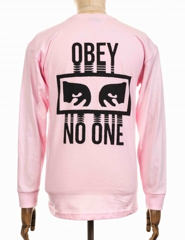L/S No One T-shirt - Pink