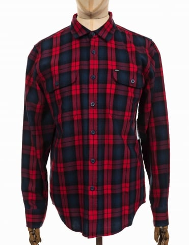 L/S Norwich Woven Shirt - Red Multi