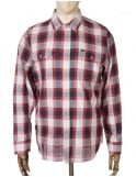 Obey Clothing L/S Ridley Shirt - Navy Multi