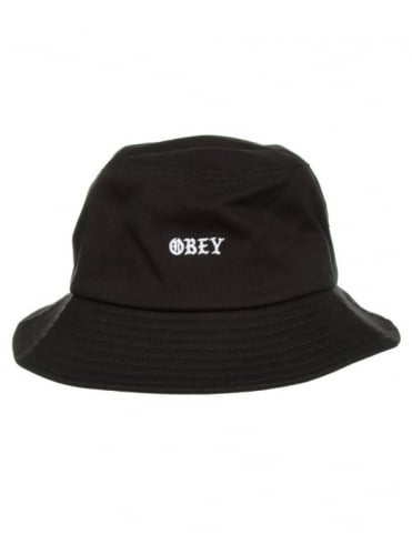 Obey Clothing Monogang Bucket Hat - Black