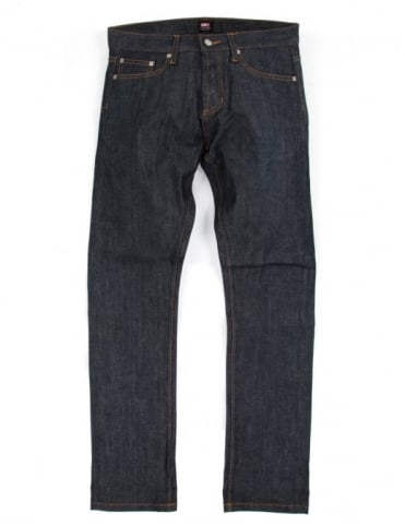 Obey Clothing New Threat Selvedge Denim - Raw Indigo