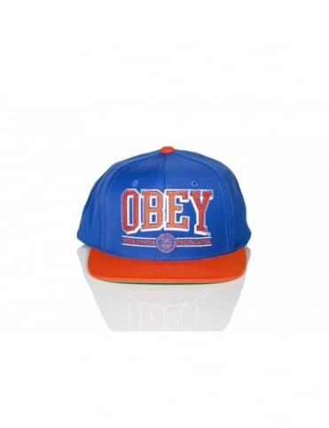 Obey Clothing Obey Athletics SnapBack - Royal Blue/Orange