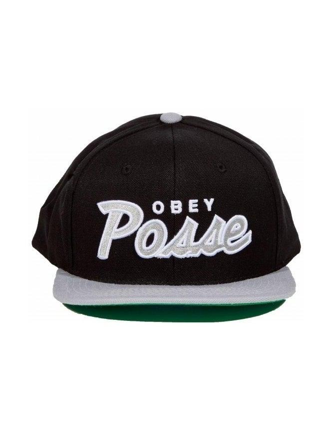 Obey Clothing Obey Posse Snapback - Black/Grey