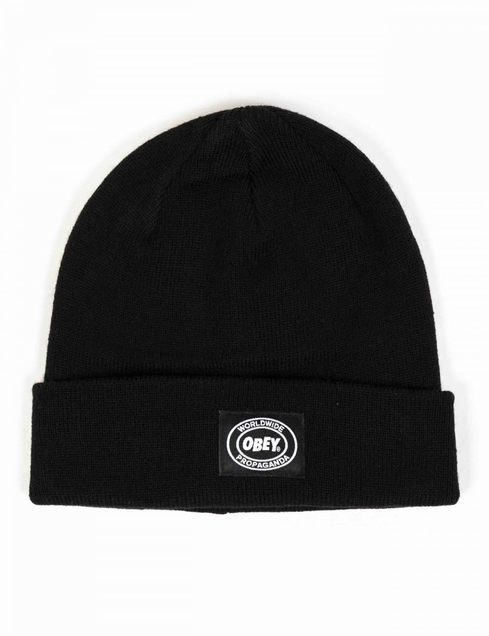 Obey Clothing Onset Beanie Hat - Black - Accessories from Fat Buddha ... 894e126a44ac