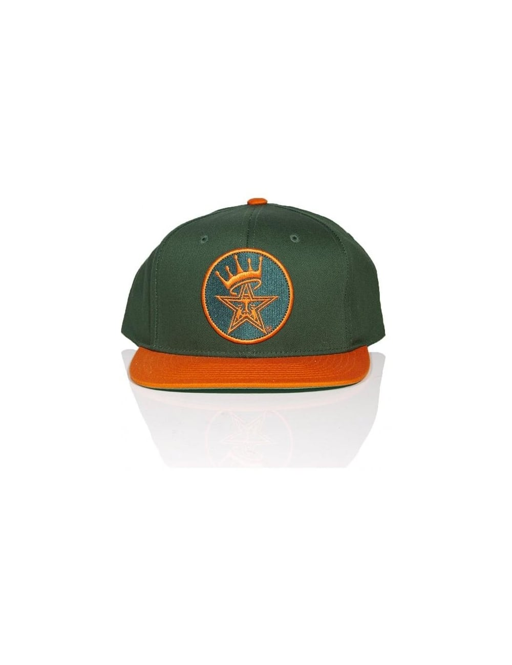 c001621e9b03fd Obey Clothing Ordained Snapback - Green/Orange - Accessories from ...