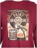 Obey Clothing Paint It Black Fine Art - Sweatshirt