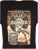 Obey Clothing Paint It Black Fine Art T-shirt - Black