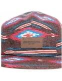 Obey Clothing Prescott Five Panel Hat - Brown